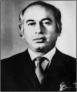 Prime Minsters - Zulfiqar Ali Bhutto