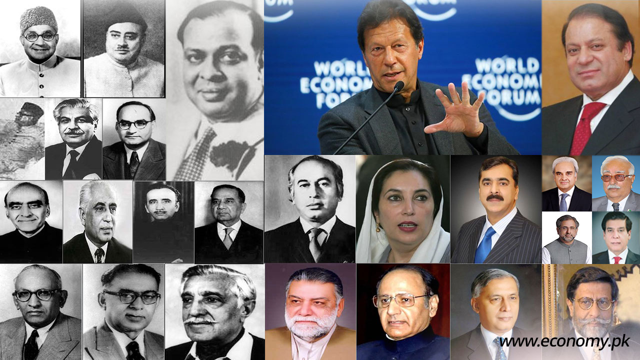 prime minsters of pakistan